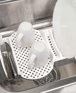 Progressive In Sink Dish Drainer - White