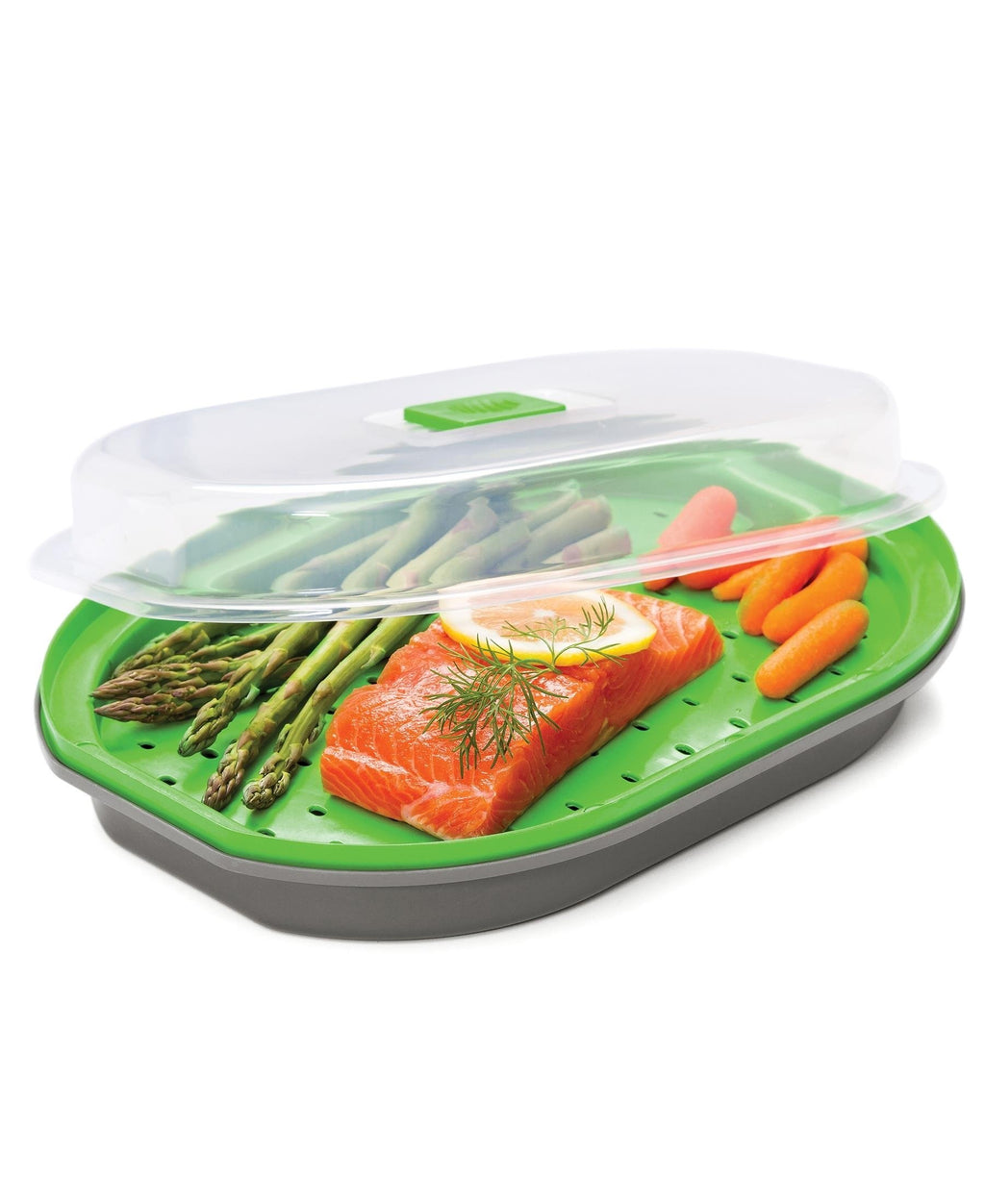 Progressive Fish And Vegetable Steamer - Grey