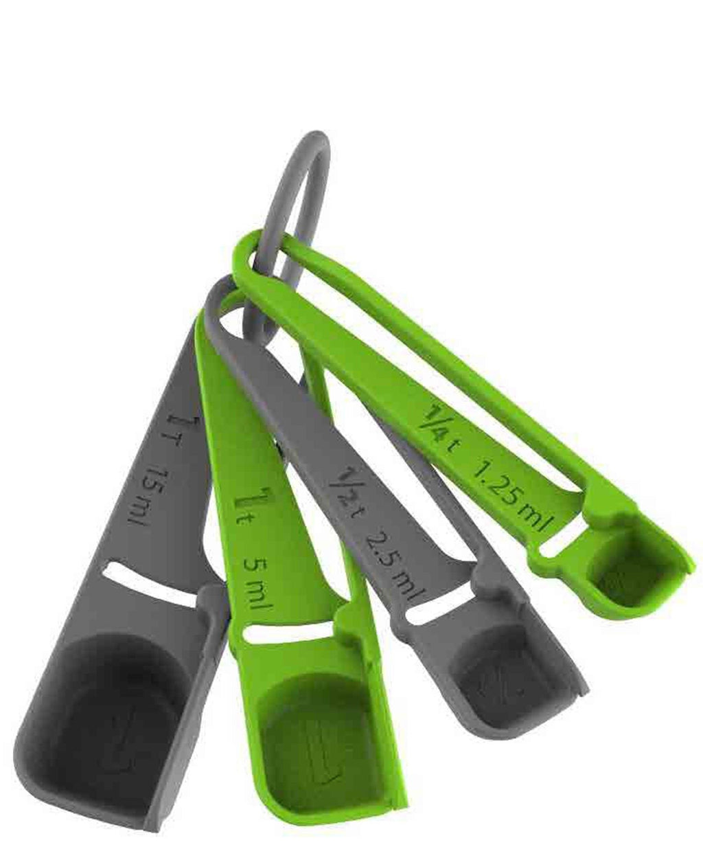 Progressive 4 Piece Levelling Measuring Spoons - Multi