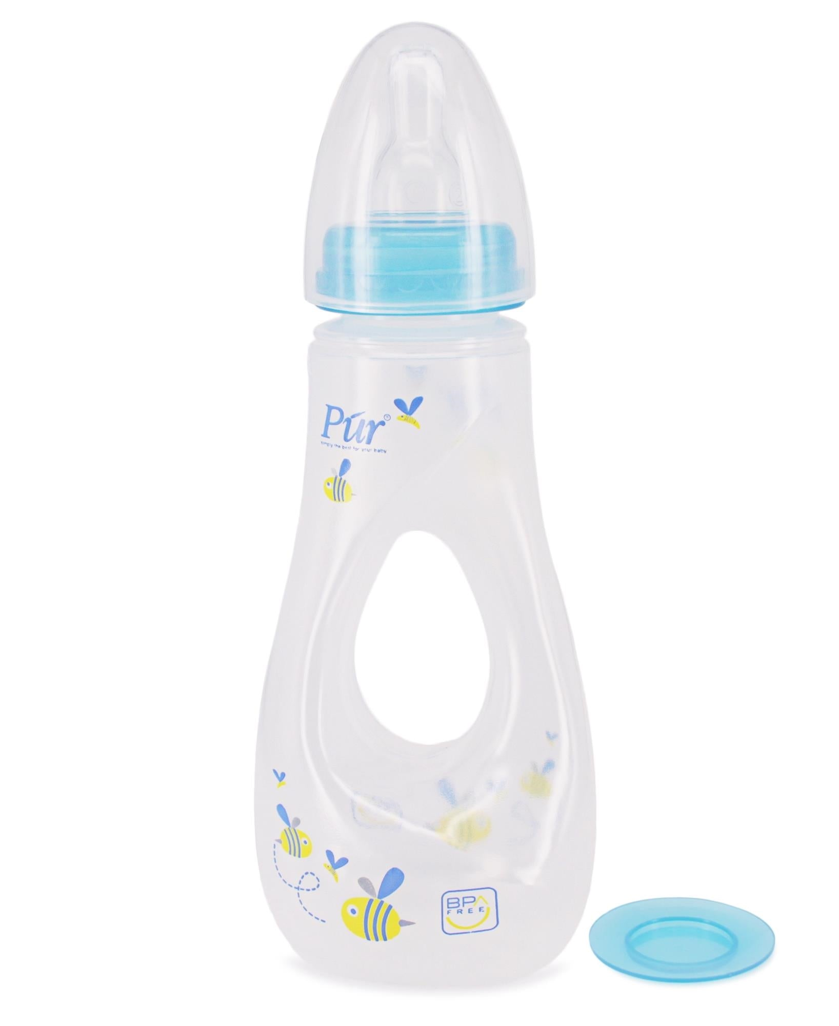 Gripper Feeding Bottle - Blue