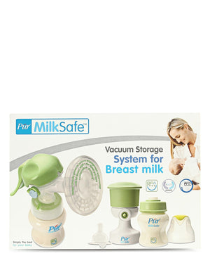 Breast Milk Pumps & Bottle Set - Green