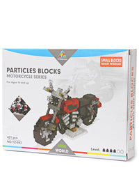 Particle Block Motorcycle - Red