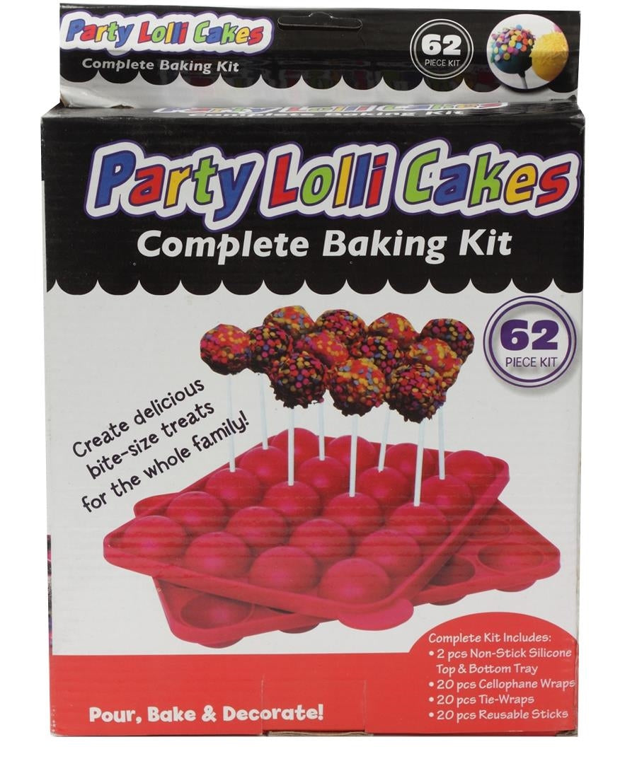 Party Lolli Cakes - Red