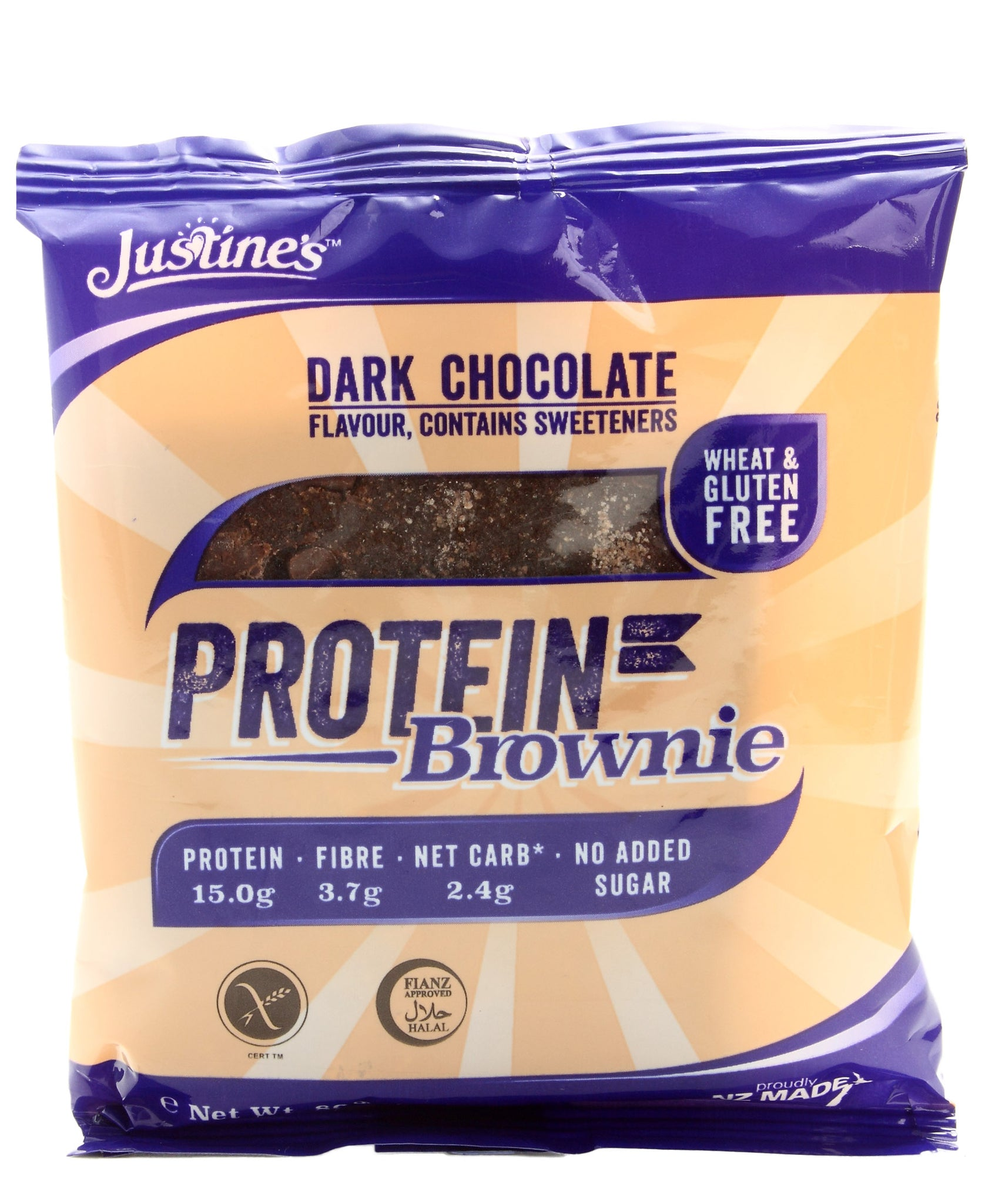 Dark Chocolate Protein Brownie - Purple