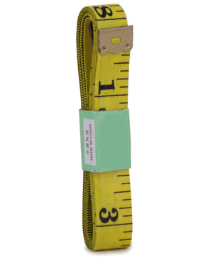 Tailors Measuring Tape - Mustard