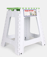 Folding Step Stool - Green