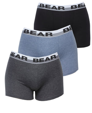 3 Pack Bodyshorts - Multi
