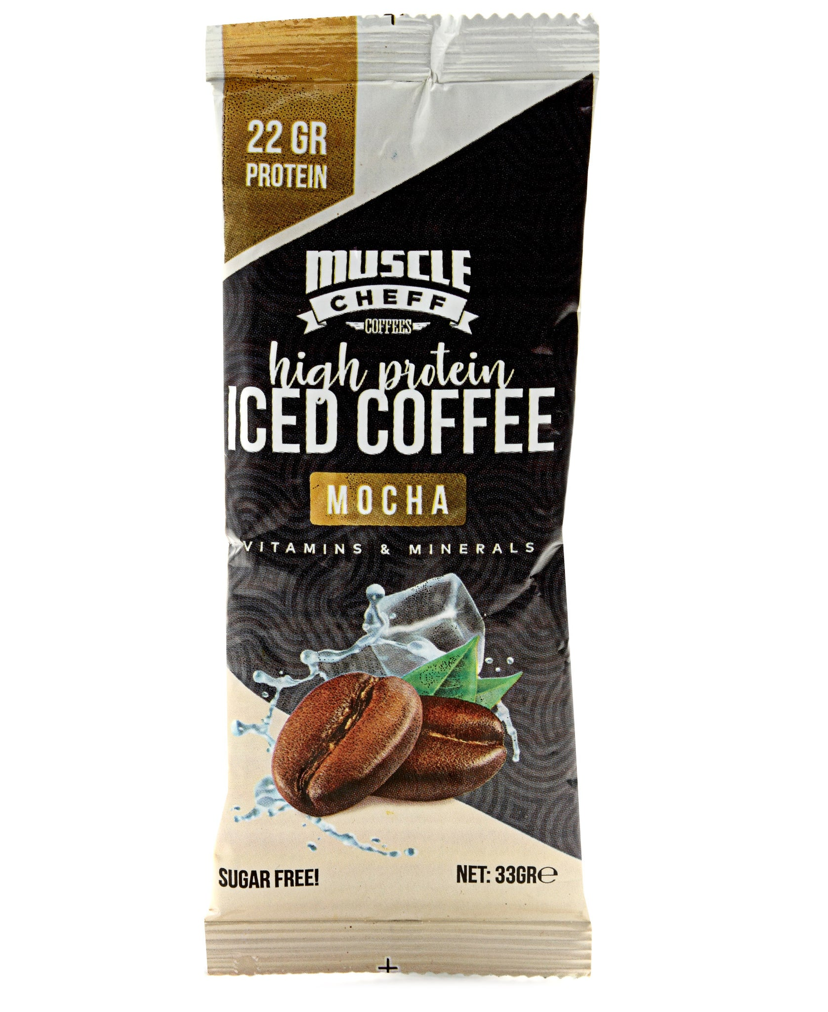 10 Pack High Protein Iced Coffee Mocha - Navy