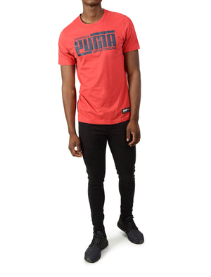 Athletics Tee - Red
