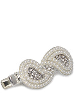 Fashion Hair Clip - Silver