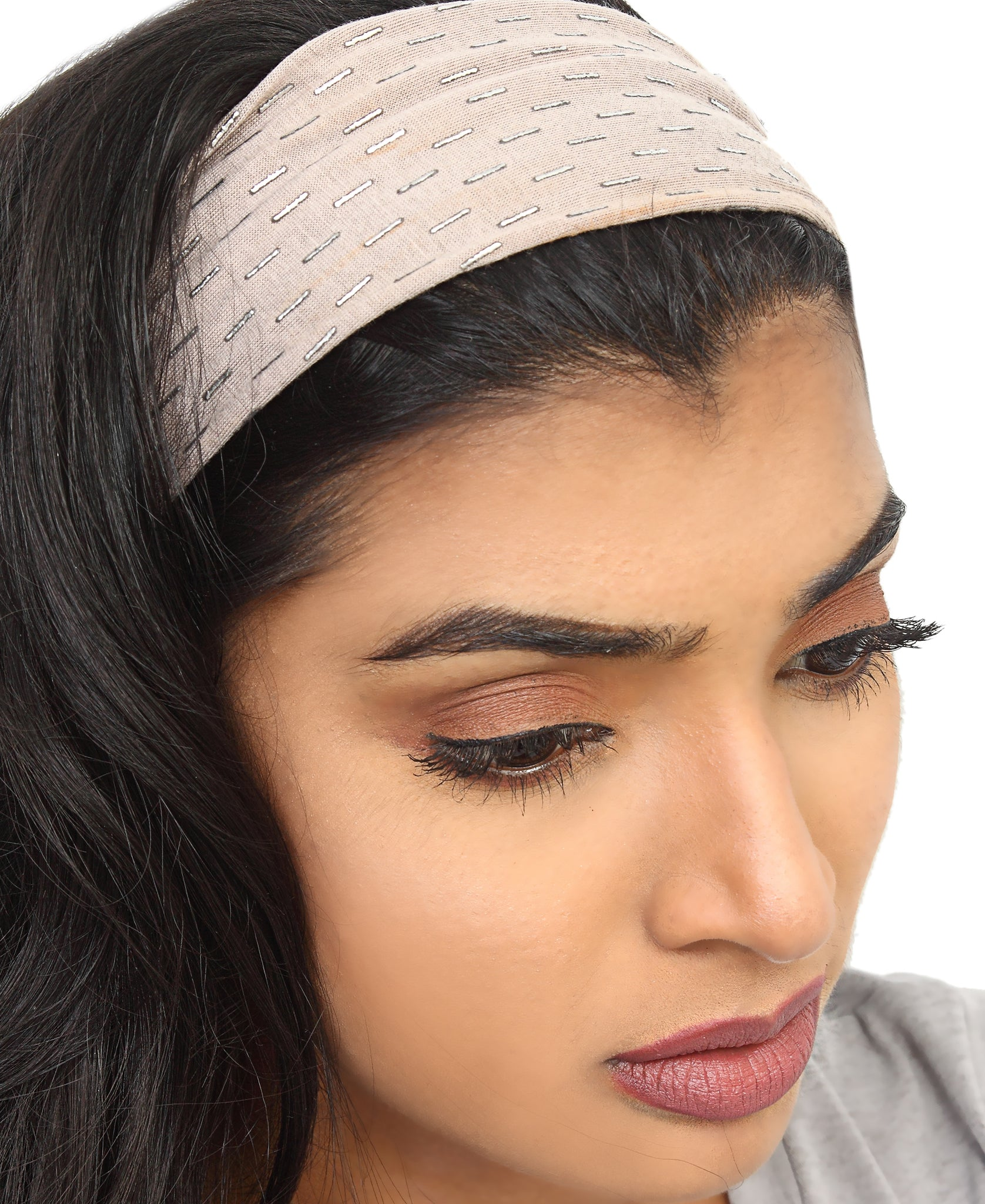 Fashion Headband - Beige