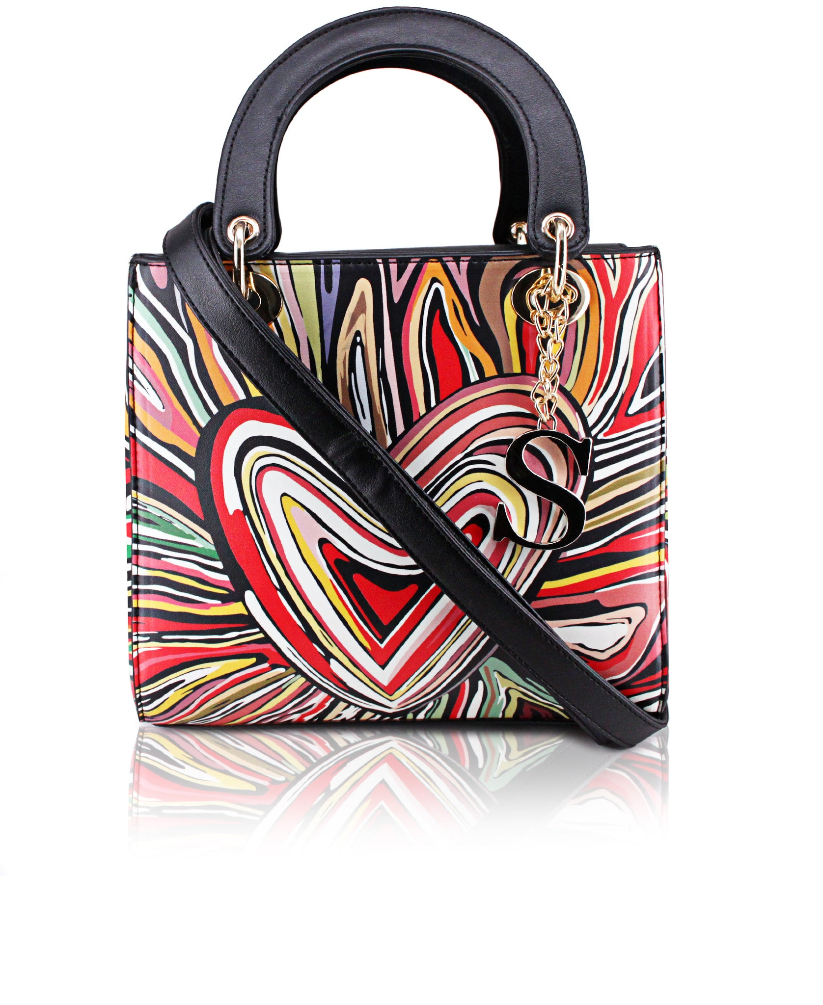 Abstract Tote Bag - Multi