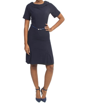 Formal Dress - Navy