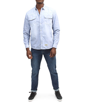 Denim Shirt - Light Blue