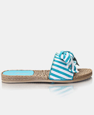 Slip On Sandals - Blue