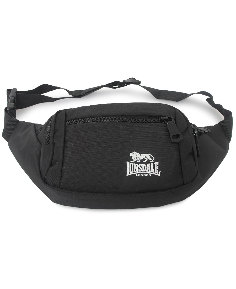 Lonsdale Moon Bag - Black