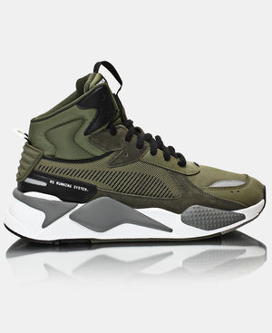 Men's RS-X Midtop Utility Sneakers - Olive