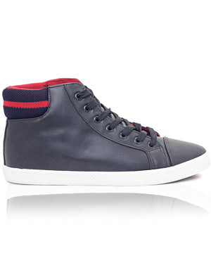 Men's Superman High Sneakers - Navy