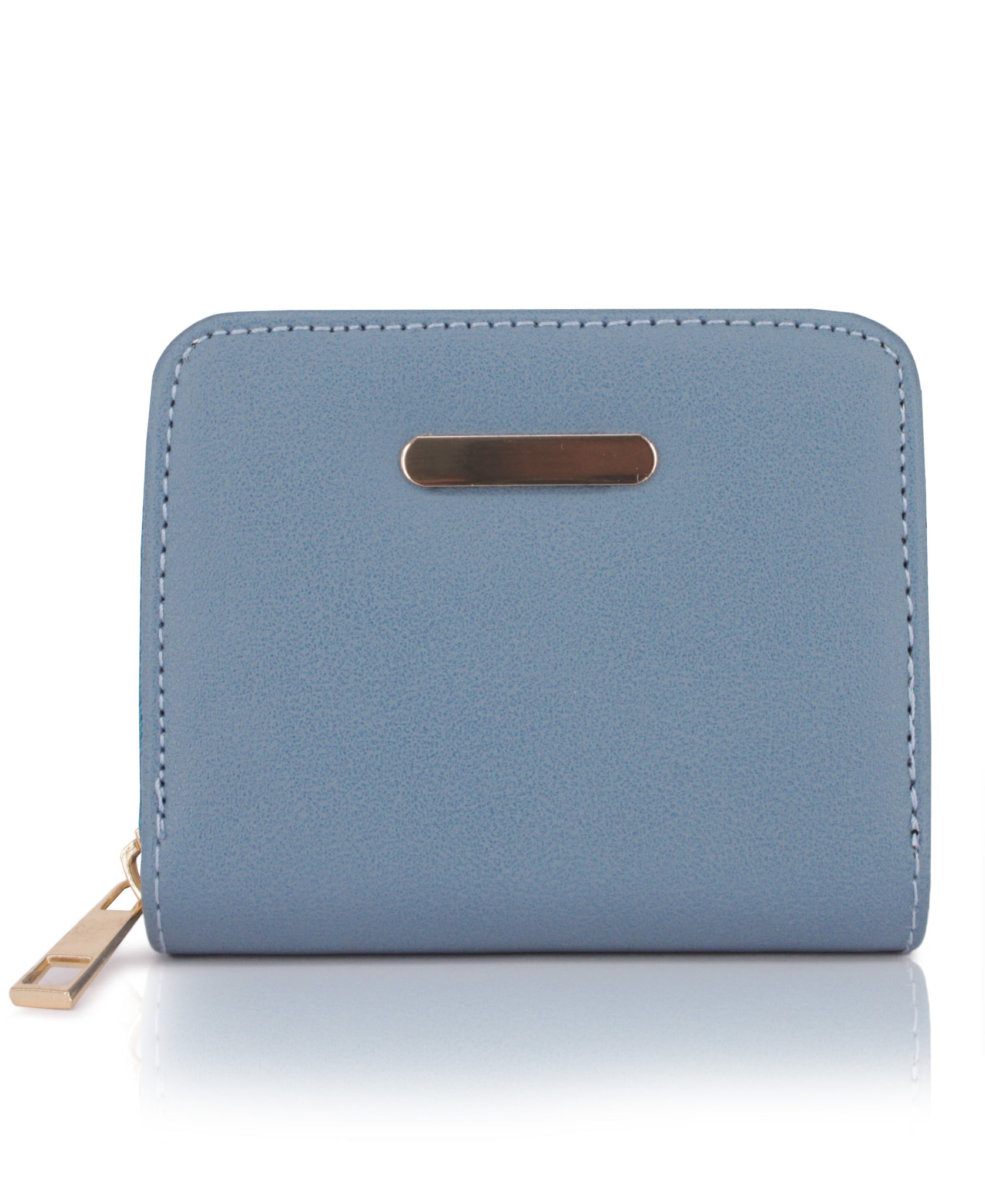Zipper Wallet - Blue