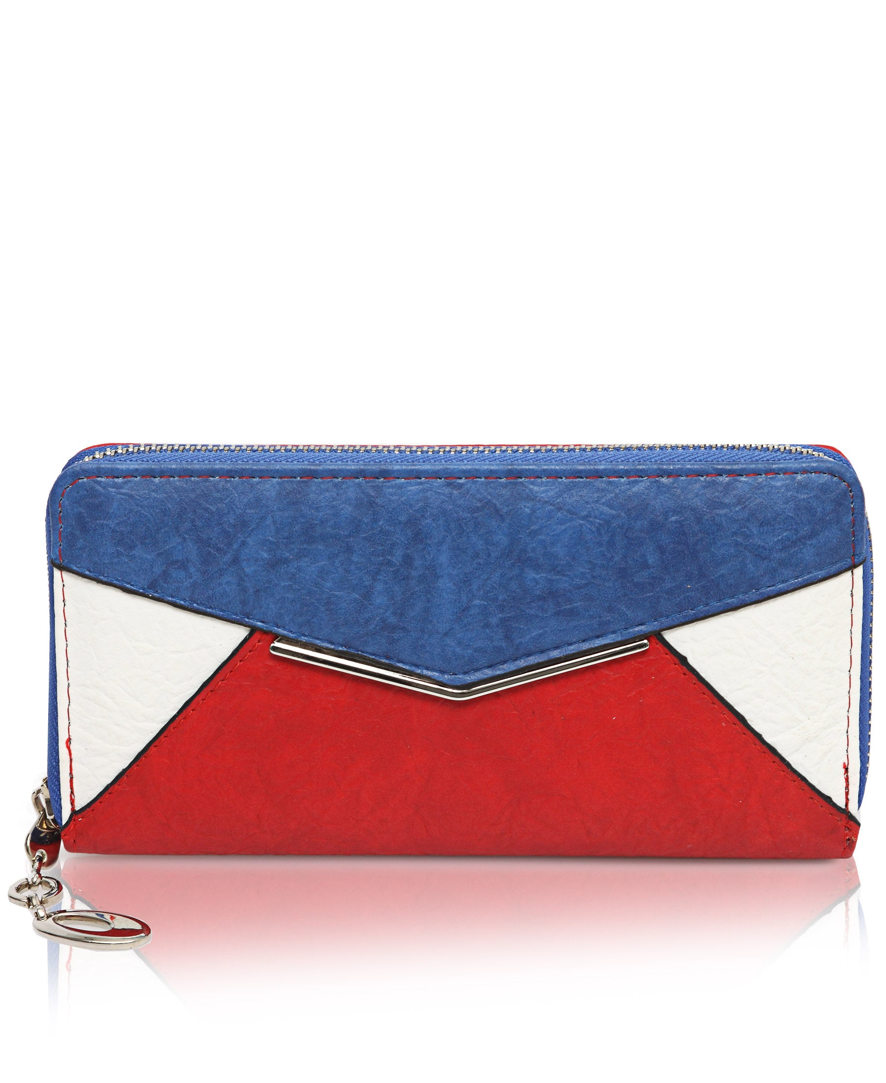 Zip Around Wallet - Red