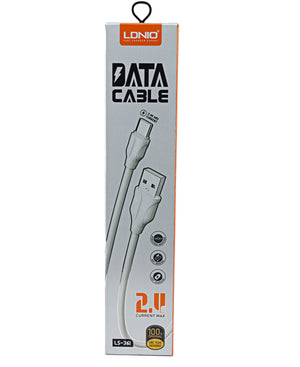 Micro USB Data Cable - White