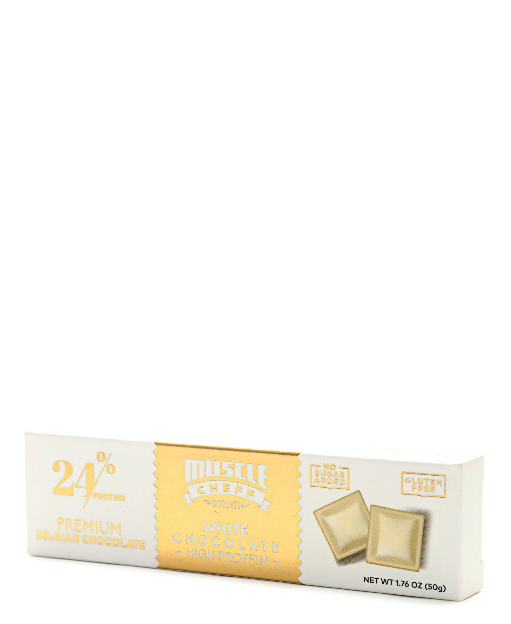 High Protein White Chocolate - White
