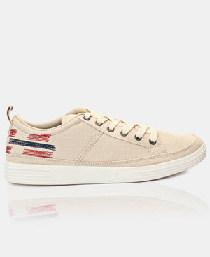 Men's Casual Sneakers - Beige