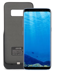 Samsung S8 Power Charging Case 5500mAh  - Black