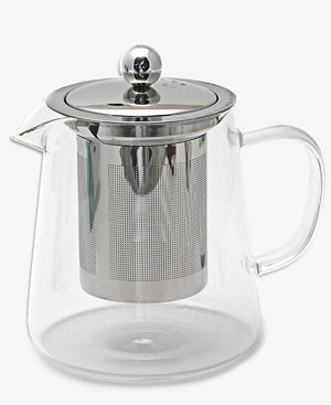Eetrite 600ml Tea Jug With Infuser - Clear