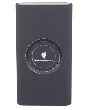 10000Mah Wireless Power Bank - Black