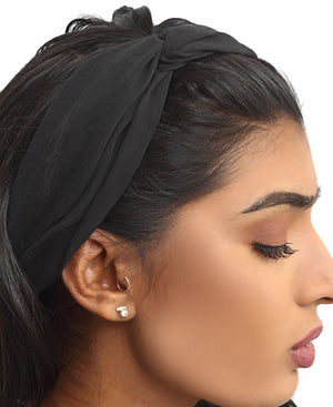 Fashion Headband - Black