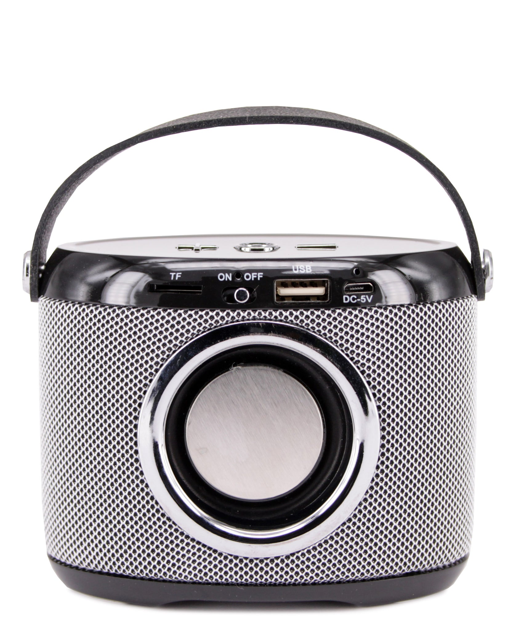 Mini Bluetooth Speaker - Silver