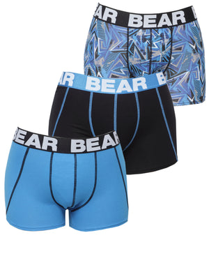 3 Pack Bodyshorts - Blue