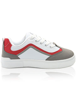 Youth Smooth Sneakers - Red