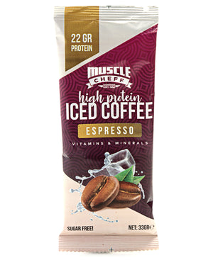 10 Pack High Protein Iced Coffee Espresso - Purple