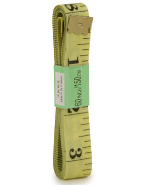 Tailors Measuring Tape - Yellow