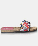 Slip On Sandals - Red