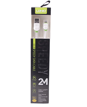 2m Iphone Data Cable - White