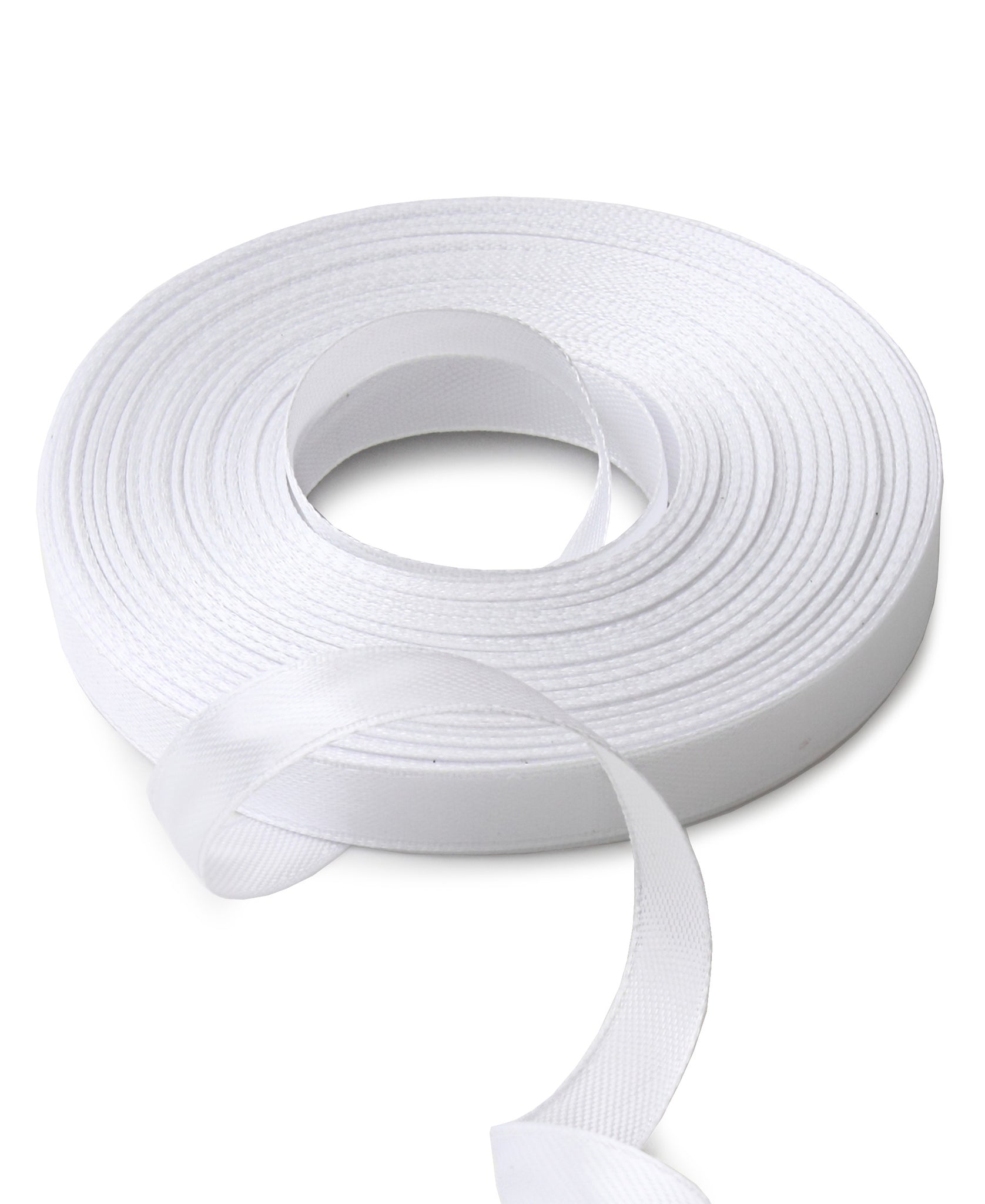 Satin Ribbon - White