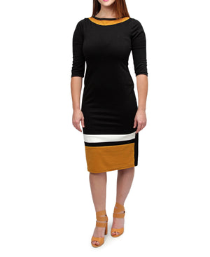 Shift Dress - Black