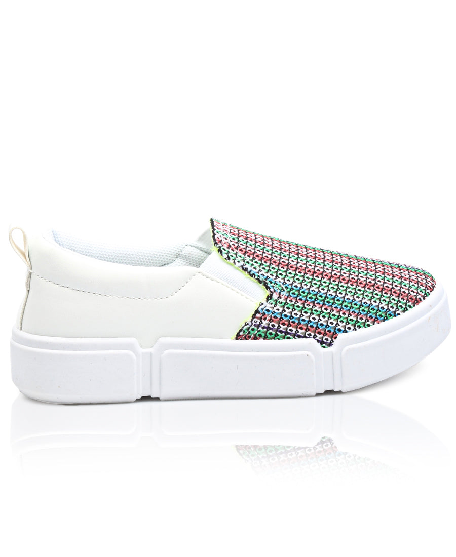 Kids Sneakers - White