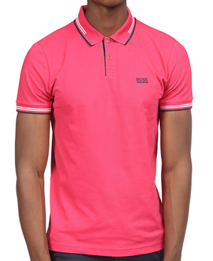 Slim Fit Hugo Boss Golfer - Pink