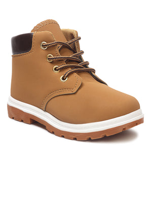 Boys Ankle Boots - Brown
