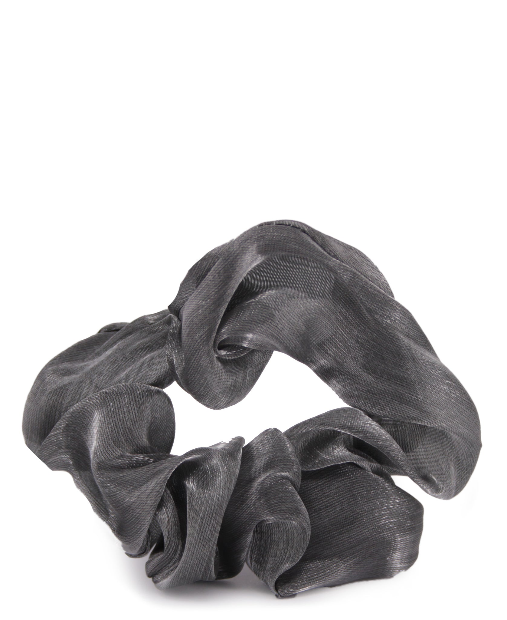 Fashion Hair Tie - Grey