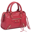 Mid Size Tote Bag - Red