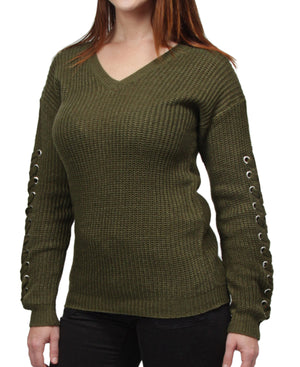 Knitted Jersey - Green