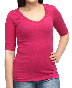 Casual Top - Pink