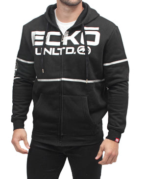 Ecko Hooded Jacket - Black