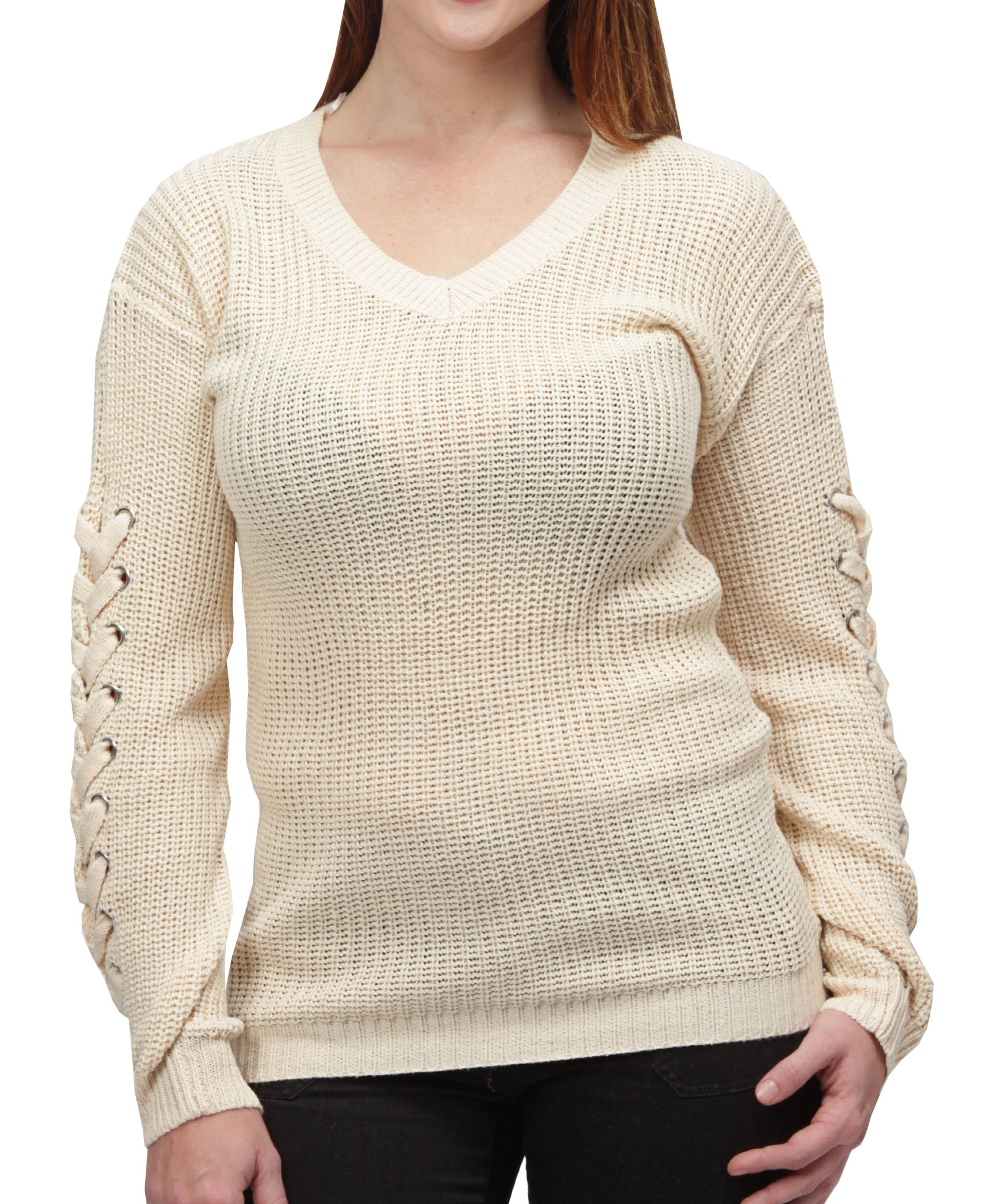 Knitted Jersey - Cream