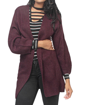 Cardigan - Purple